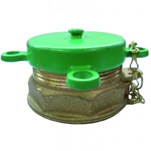 Metalen groene vuldop 2″