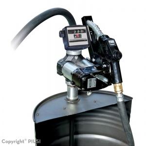 Drum Bi-Pump 12V met mechanisch telwerk en automatisch afslagpistool