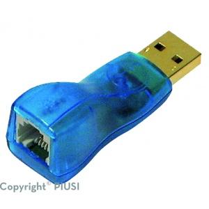USB adaptor Blauw (Blauw stuk los voor key reader)