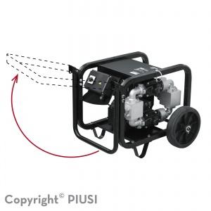 Handy Kit voor ST 200 (handvat en wielen)