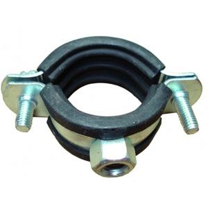 Ophangbeugel met rubber 1″
