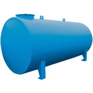 Dubbelwandige metalen bovengrondse tank 2.500 liter
