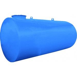 Dubbelwandige metalen ondergrondse tank 2.500 liter