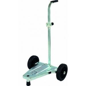 Kar met 2 wielen voor vaten van 18-60 kg