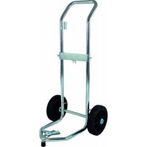 Twee wielen trolley voor vaten van 50-60 kg