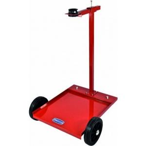 Kar met 4 wielen voor vaten van 20-60 kg.