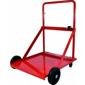 Kar met 2 grote wielen en 2 kleine wielen voor vaten van 180-200 kg