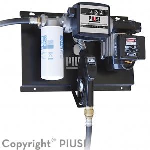 ST E120M met filter H2O, telwerk K33 en automatisch afslagpistool
